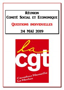 Questions Individuelles Mai 2019