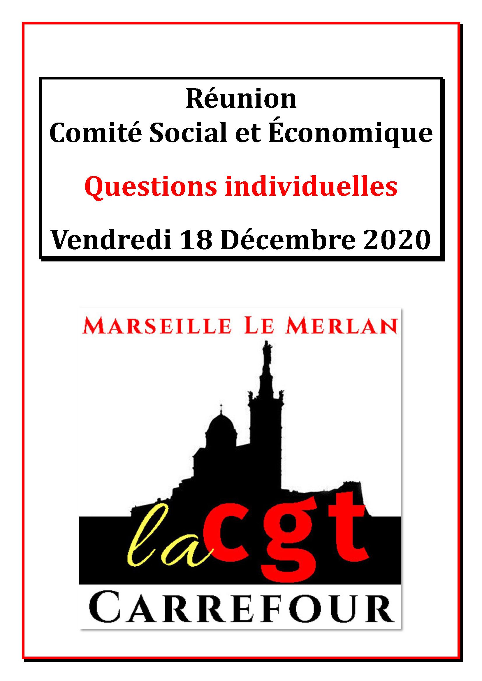 Questions Individuelles Décembre 2020