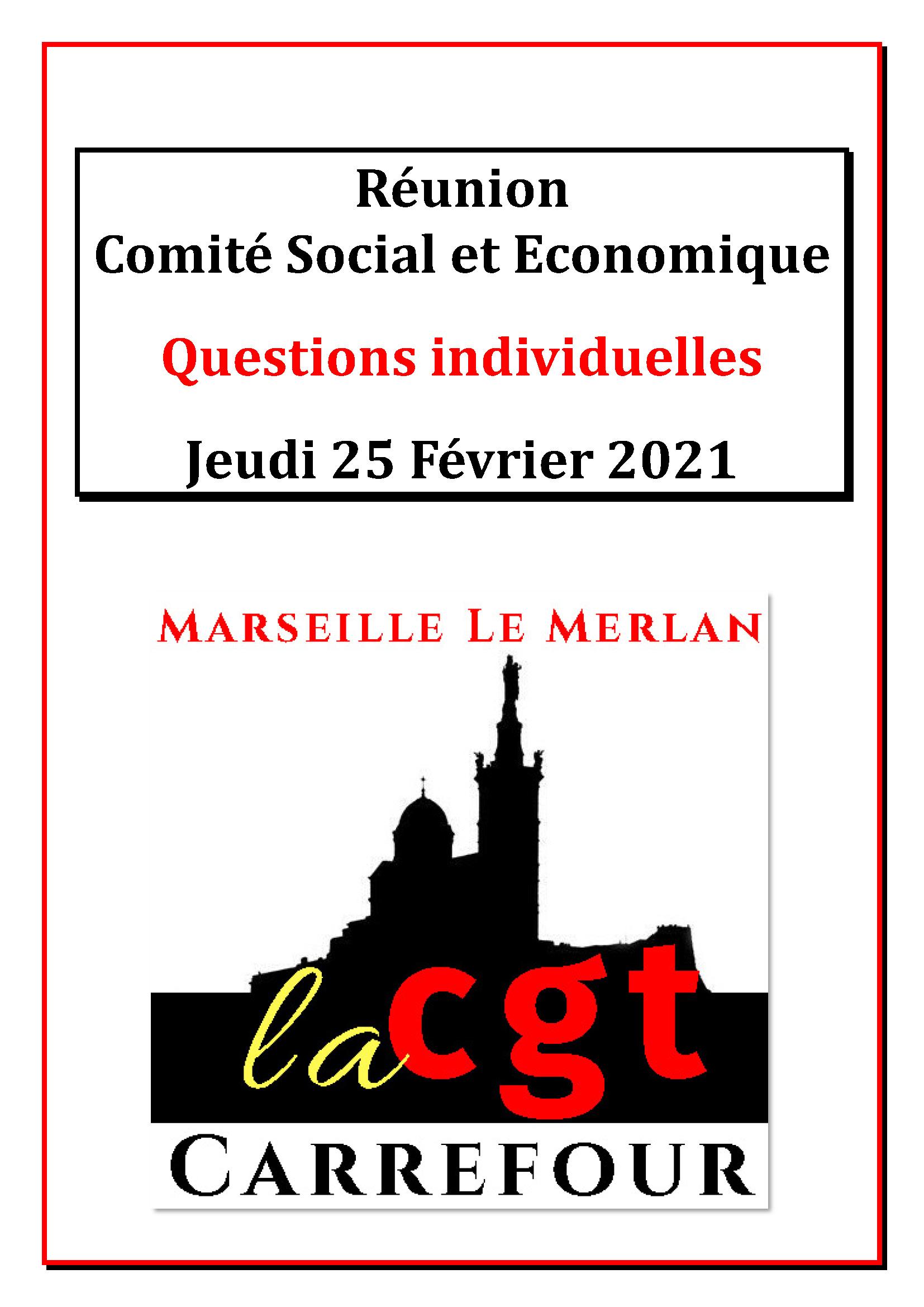 Questions Individuelles Février 2021