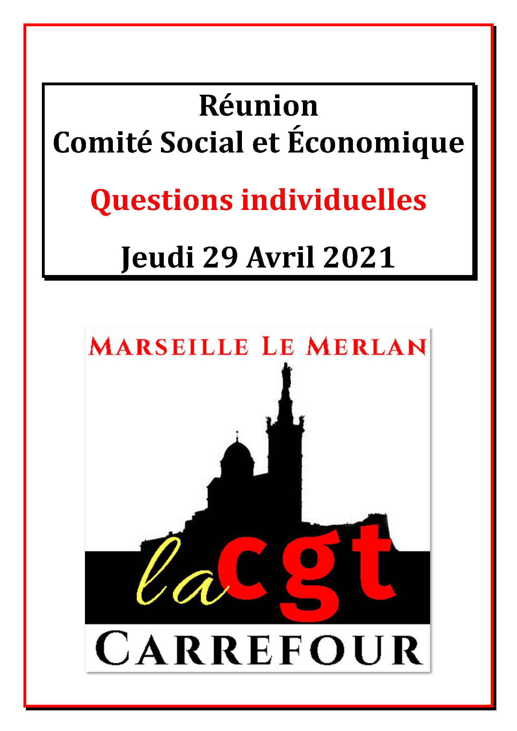 Questions Individuelles Avril 2021
